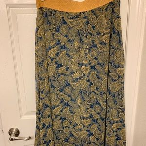Beautiful paisley print skirt